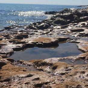 Praia da Luz Tag am Meer