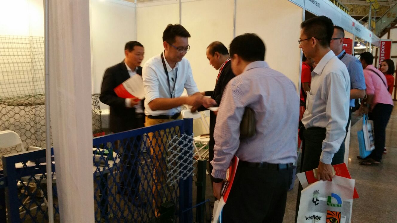 Jinbiao exhibtion @ BuildTech
