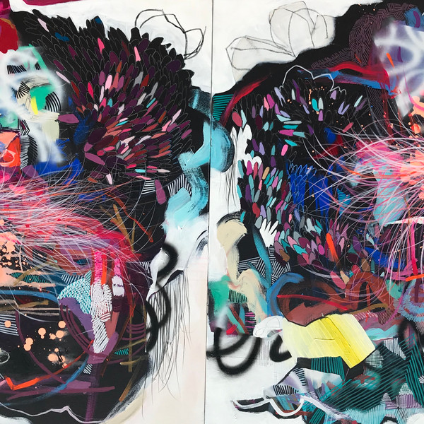 birds of a feather (diptych)