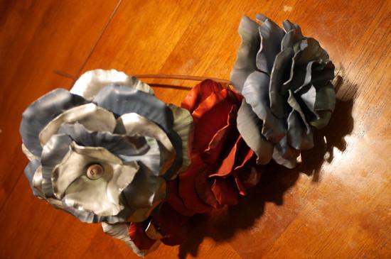 Anodized Aluminum Roses