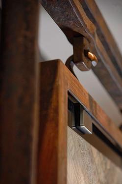 Torii Gate Quilt Display detail