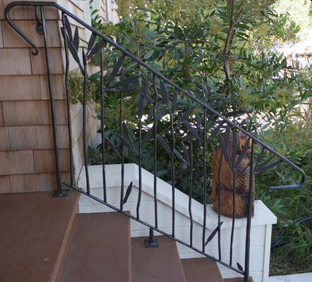 Poppy Leaf Handrail