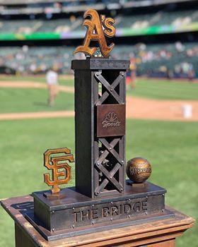 NBC Sports Bay Bridge Series Trophy