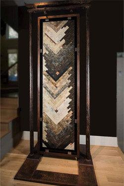 Torii Gate quilt display