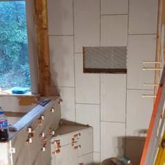 Tile Shower Installation