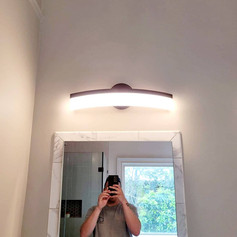 Lights and Mirror Install