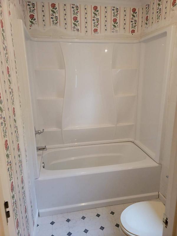 Installing a new shower/tub kit