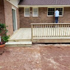 New Deck Build in Watkinsville, Ga