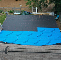Halfway Point of a New Roof Addition