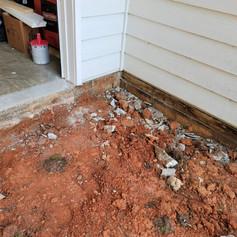 Garage Addition and Monolithic Concrete Pour