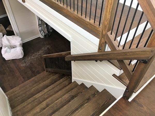 Interior Paint on Stairway