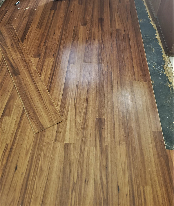 New Flooring Almost Complete
