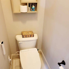 New toilet and Tile Install