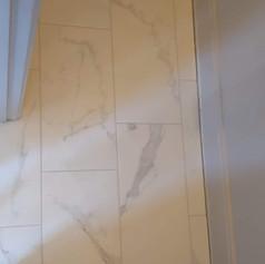 Tile Installation for a New Tile Shower