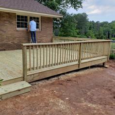New Deck Build - Watkinsville, Ga