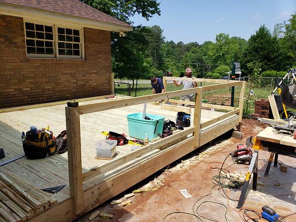 Handrailing Installation