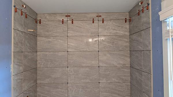 New Tile Shower