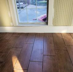Wood Flooring and Window Trim Installation