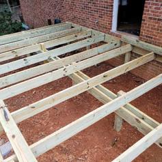 Brand New Deck Build in Jefferson, Ga