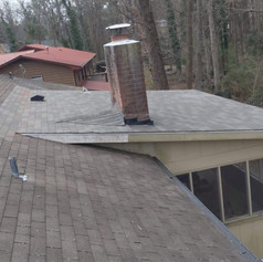New Roofing Over a Deck