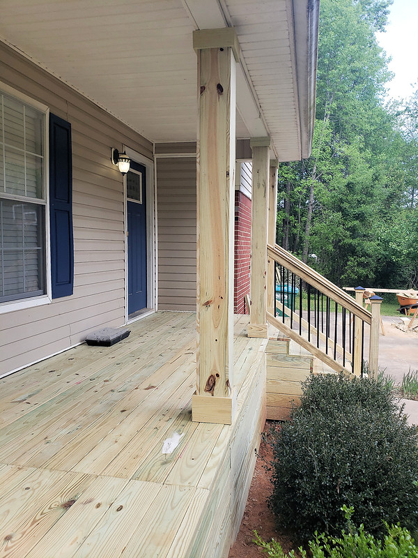 Deck Build - Statham, Ga