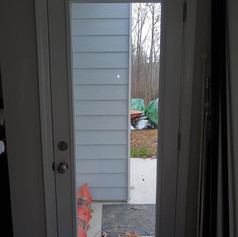 Before Photo of Existing Door