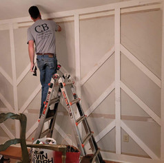 Trimming Out an Accent Wall