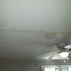 Sheetrock Repairs to the Ceiling Before Paint