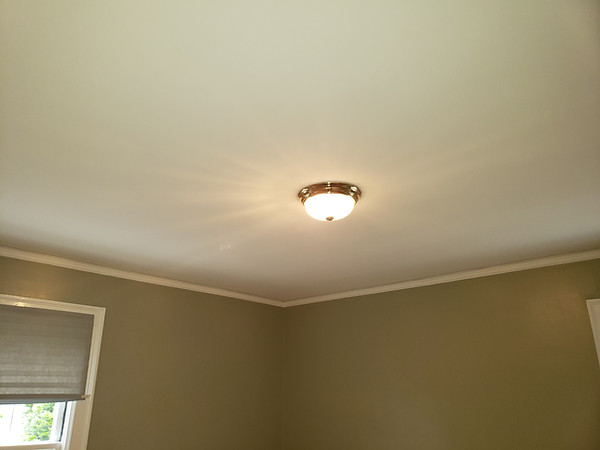 Removal of Stipple Ceilings and Fresh Paint