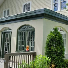 Exterior Paint Job on a home in Five Points