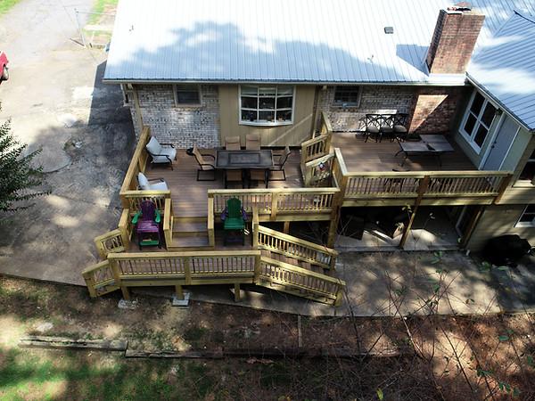 3-Tiered Deck Build