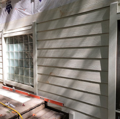 Brand New James Hardie Fiber Cement Siding almost ready for paint!