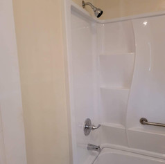 Shower Kit Installation and Paint