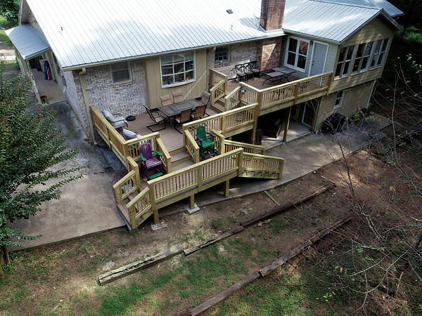Trex Deck Build