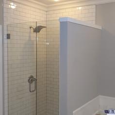 New Tile Shower Install
