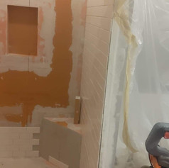 Prepping to Install a New Tile Shower