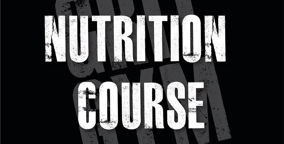 Diet Disruption Course