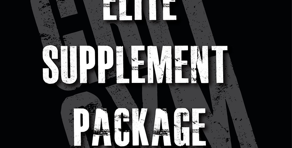 Elite Supplement Package