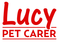 Lucy Pet Carer Logo - doggy day creche,