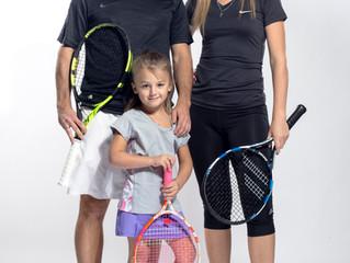 Теннис для всей семьи!