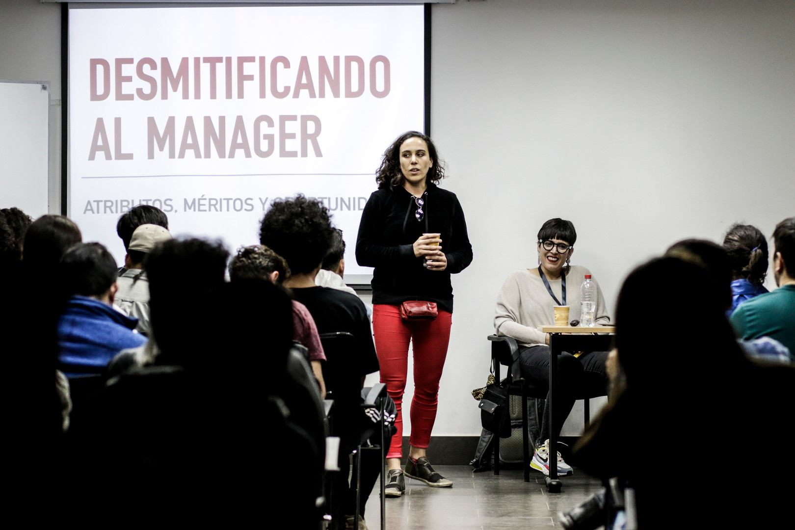 """Desmitificando al Manager"" - Conferencia"