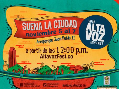 Altavoz: el festival que invita a conocer la música de Medellín y el mundo