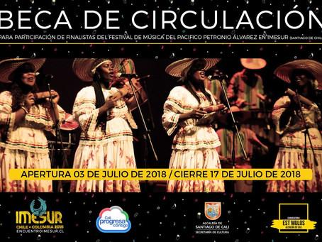 Beca Circulación Santiago de Cali / IMESUR 2018
