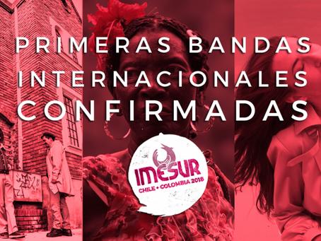 Primeras Bandas Internacionales confirmadas
