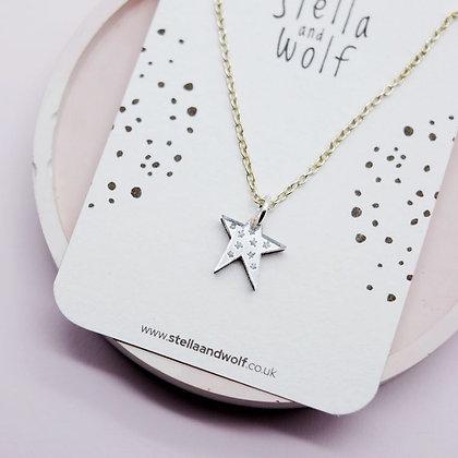 Wonky Star Necklace