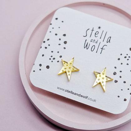 Wonky Star Earrings