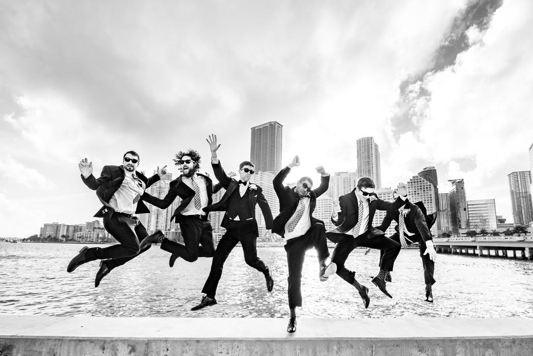photo des garçons d'honneurs par DavidZ Photographer