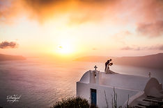 Wedding photographer in Santorini. DavidZ Photographe. photgraphe de Mariage international