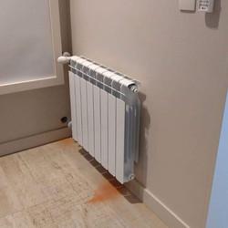 Instalación de Radiadores, caldera y abl