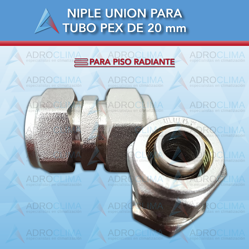 Niple Union para tubo pex de 20mm